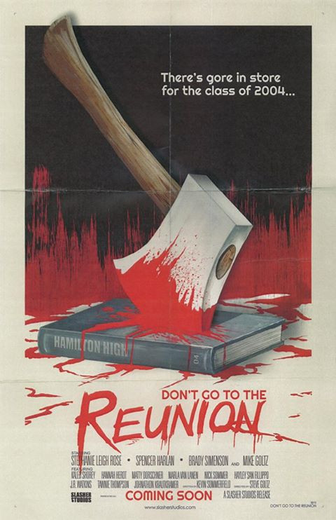 Don't go to the reunion film poster