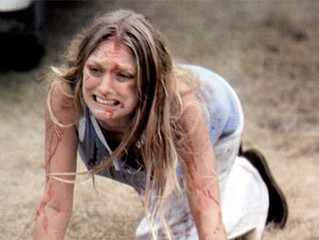 Why do girls in slasher movies always fall down?