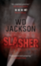 Slasher book cover design
