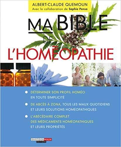 livre bible de l'homéopathie sur naturopathie
