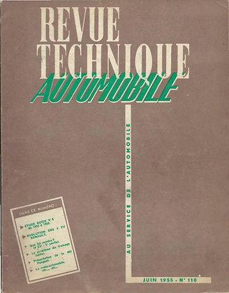 Revue Technique Automobile 1955