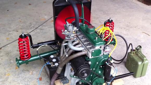 Réglage du moteur Renault 4cv