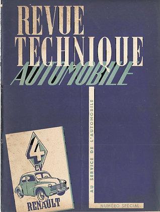 Revue Technique Automobile 1950