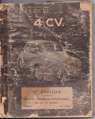 Guide 12ème édition Renault 4cv