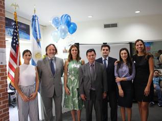 Ceremonia de inauguración del ciclo lectivo 2018-2019 en LEAH