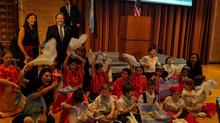Celebración 25 de mayo en Rice University
