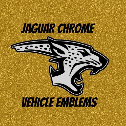 Jaguar Chrome Vehicle Emblem