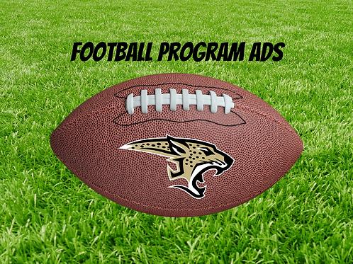 2020 Football Program Ad