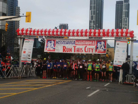 MISSISSAUGA MARATHON              VIRTUAL RUN    SEPT. 11 - OCT. 11th
