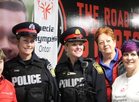 PEEL POLICE & SPECIAL OLYMPICS at STEELHEADS