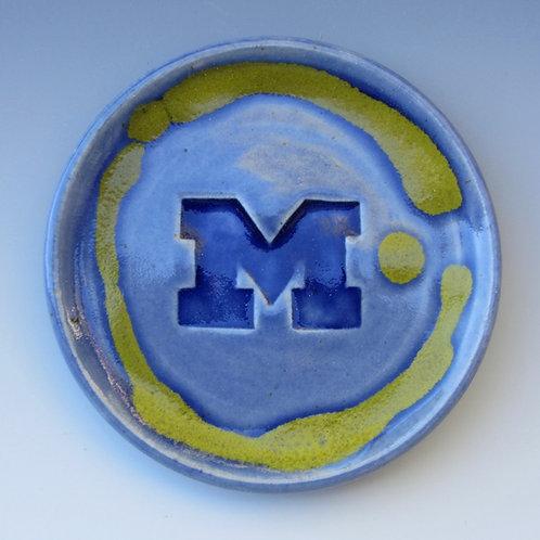 Stoneware Coaster (University of Michigan)