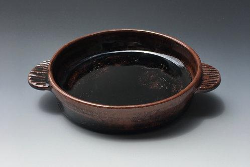 Small Stoneware Brie Baker