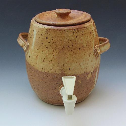Stoneware Jug with Spigot