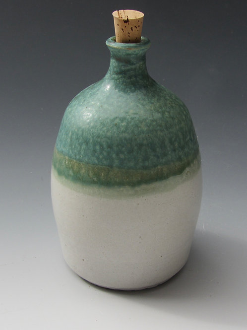 Stoneware Bottle with Cork