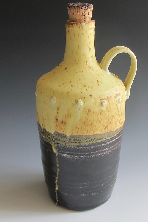 Stoneware Jug with Cork