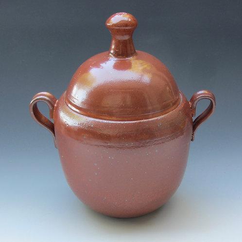 Stoneware Covered Jar