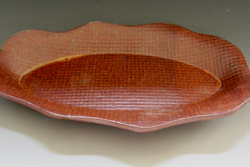 Stoneware Oval Plate