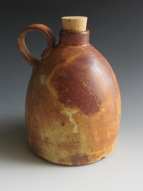 Stoneware Jug with Cork