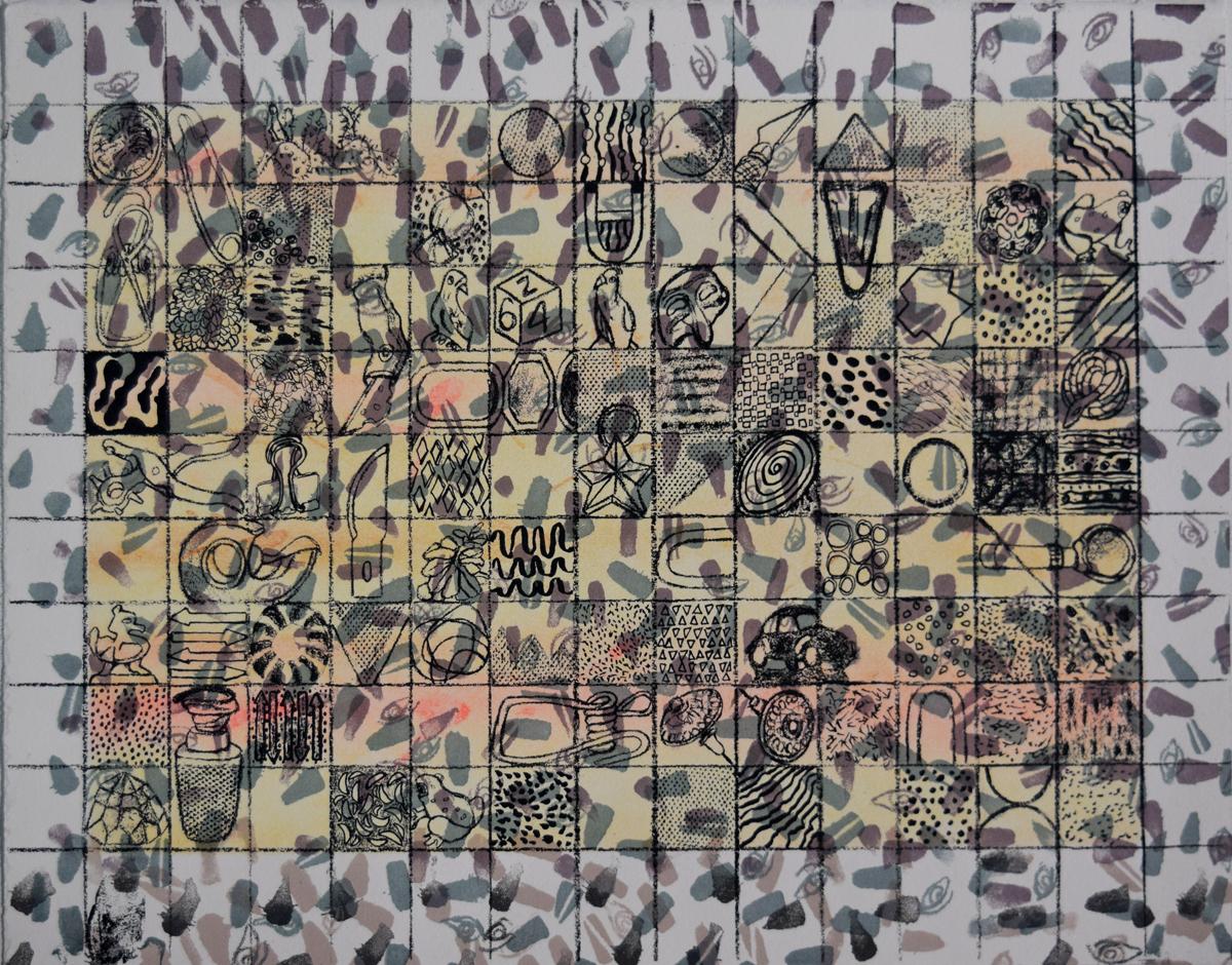 """My Stuff Tapestry 11.75x15"""""""