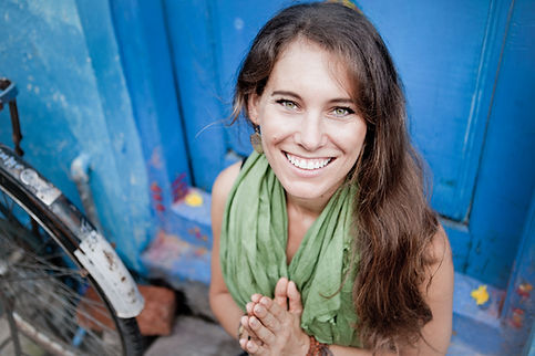 Brittany Woodard in Mysore, India