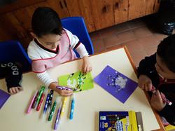 Trabajos de motricidad fina en preescolar
