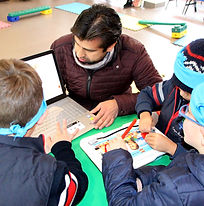 Trabajo interactivo en primaria