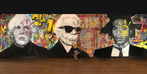 Andy - Karl - Basquiat