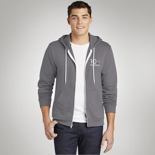 American Apparel ® Flex Fleece Zip Hoodie