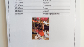 Timing Your Wedding Day