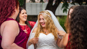 Short and Sweet August Wedding