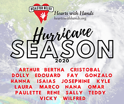 hurricane season 2020 names