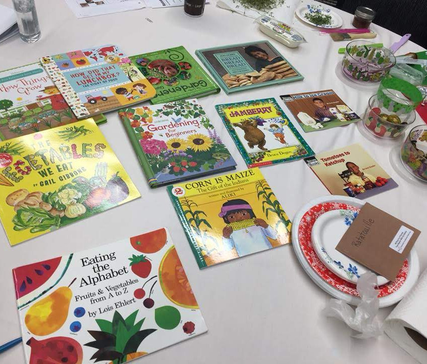 Garden & Food Focused Books
