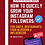 Thumbnail: HOW TO GROW YOUR INSTAGRAM FOLLOWERS: Chefs, Restaurants, Bloggers & Influencers