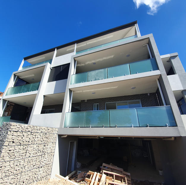 Frosted Glass Balustrading