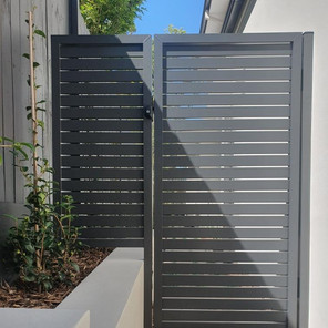 Custom Welded Slat Side Gate
