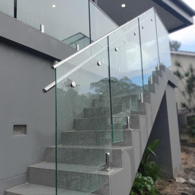 Custom Glass Balustrade