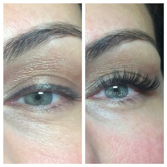 Instagram - #stocktonca #eyelashextensions #nomascara #volumelashes #classiclash