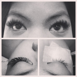 Instagram - Before and after on our October Lash winner Qewani! congratulations!