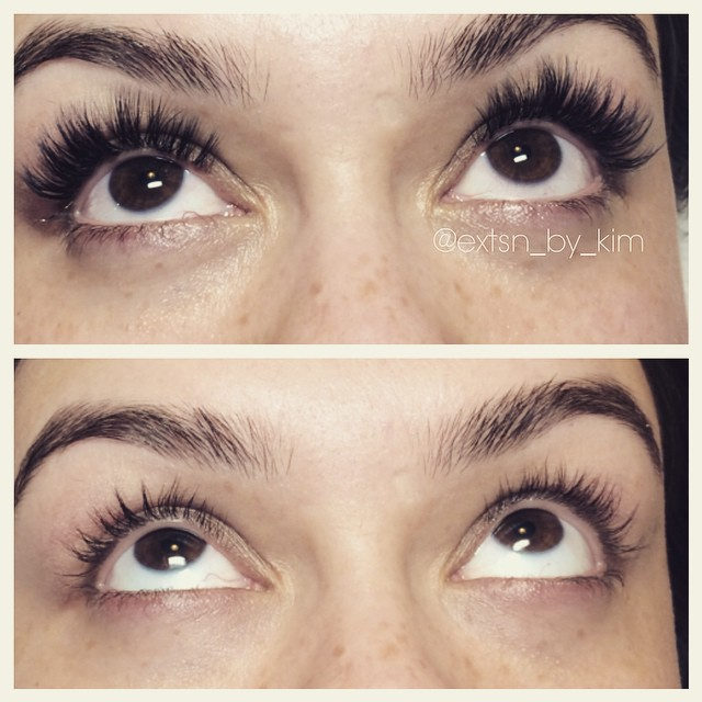 Instagram - Beautiful #lashes for this beautiful lady #eyelashextensions #lashes