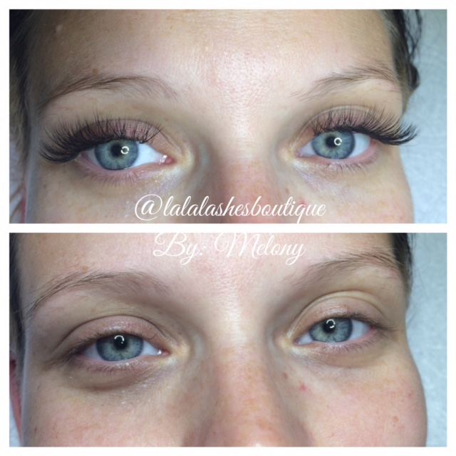 Russian Volume Set Done by Melony