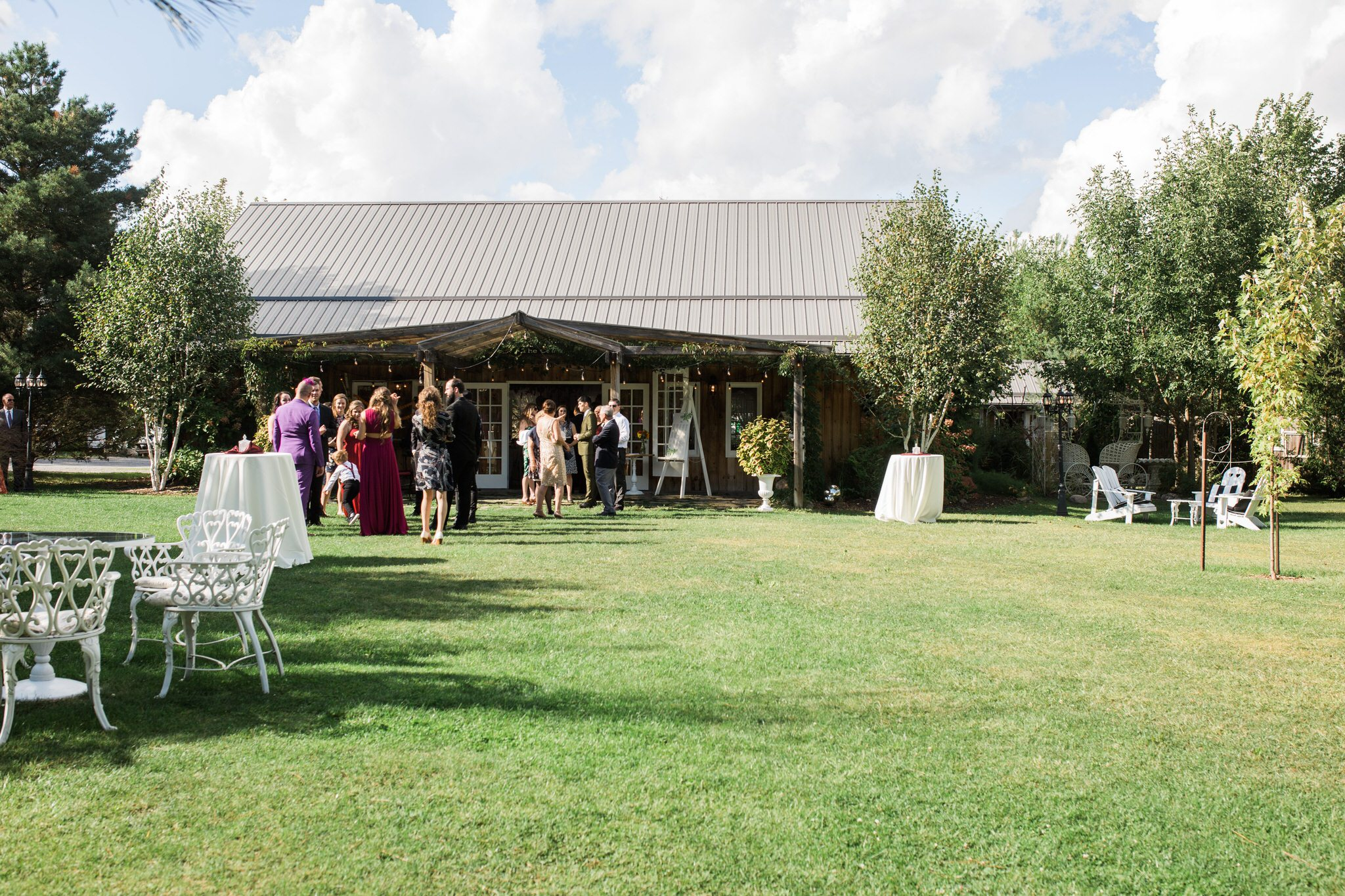 Northview Gardens Wedding - the lawn