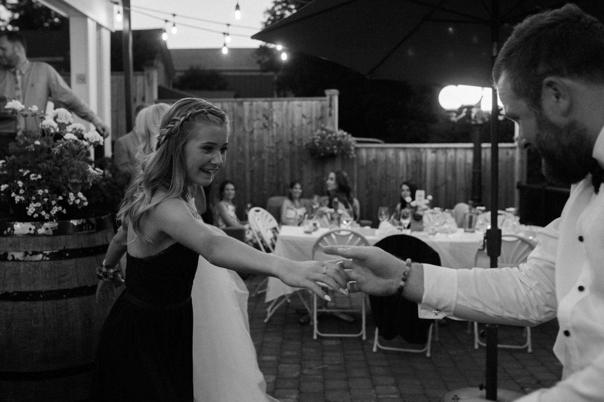 Harvest Restaurant Wedding Brooklin Ontario - Father daughter dance