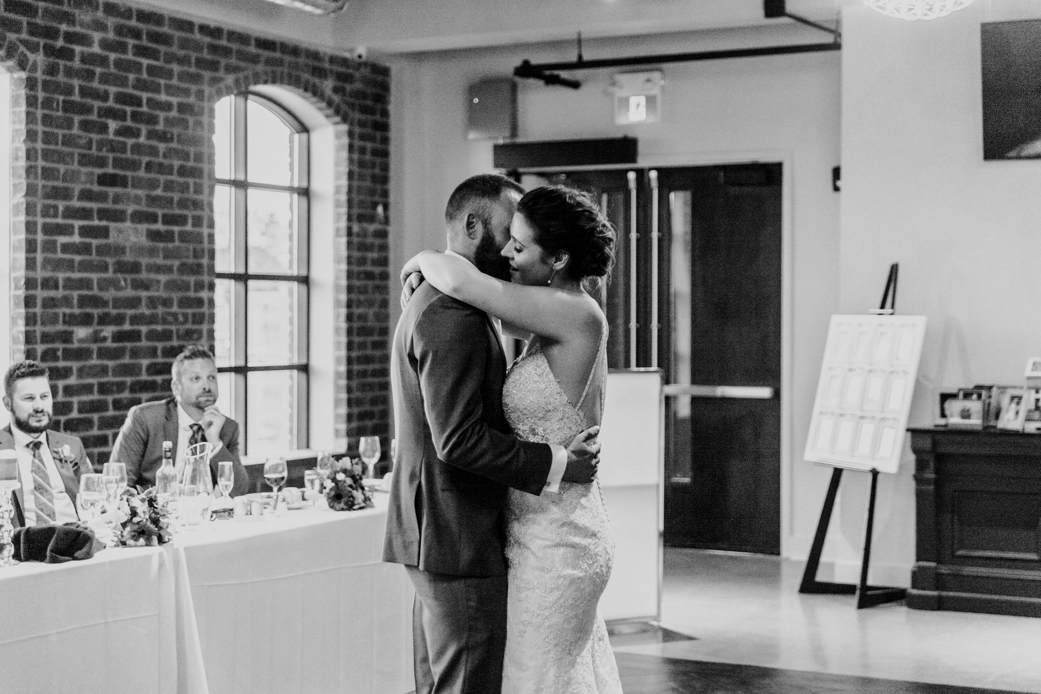 Brock Street Brewery Wedding - first dance