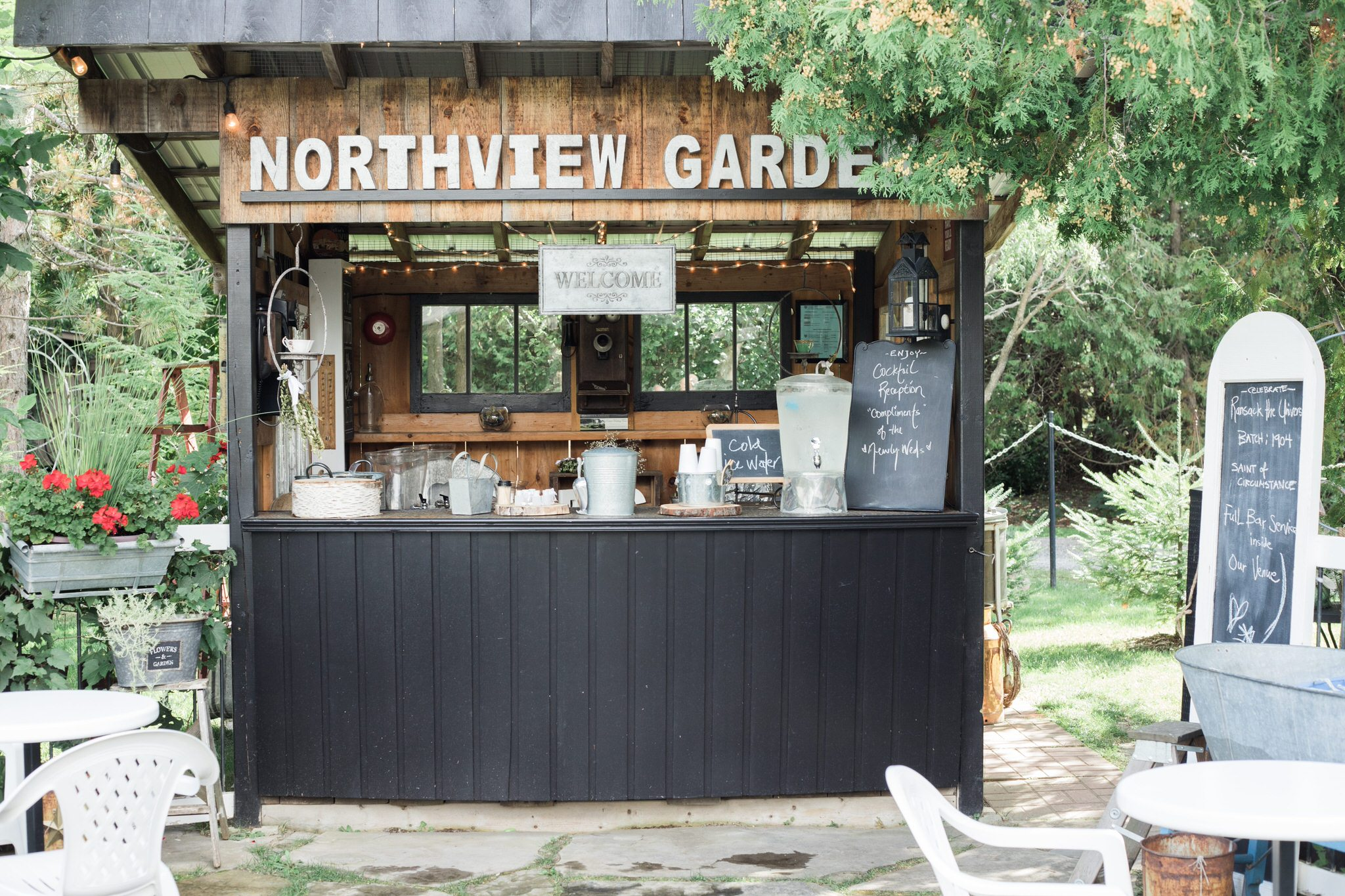 Northview Gardens Wedding - bar