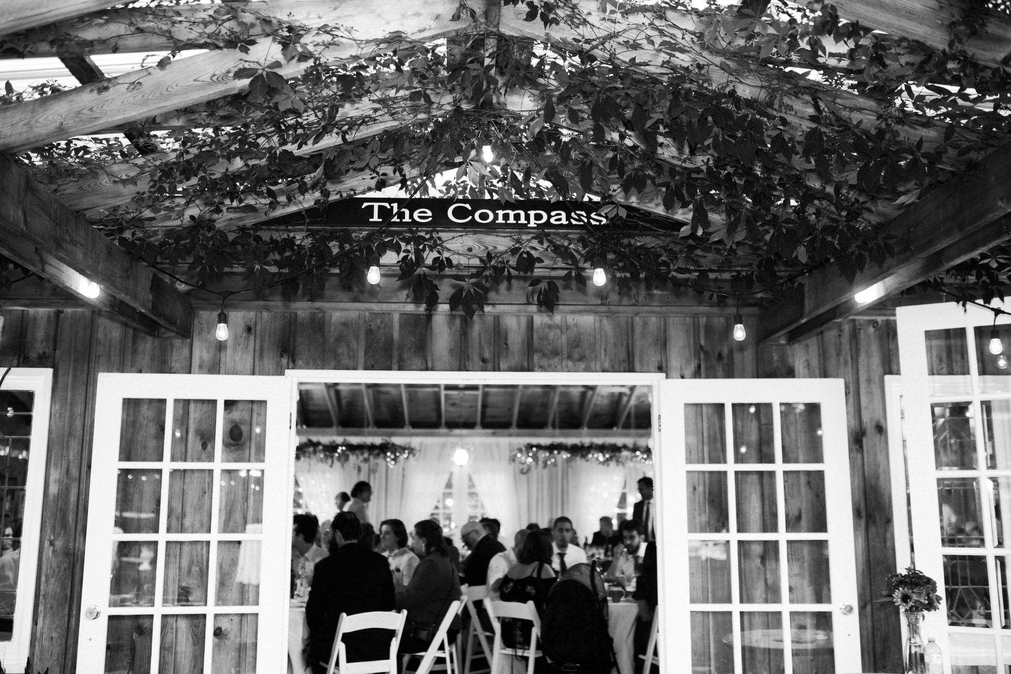 Northview Gardens Wedding - The Compass reception