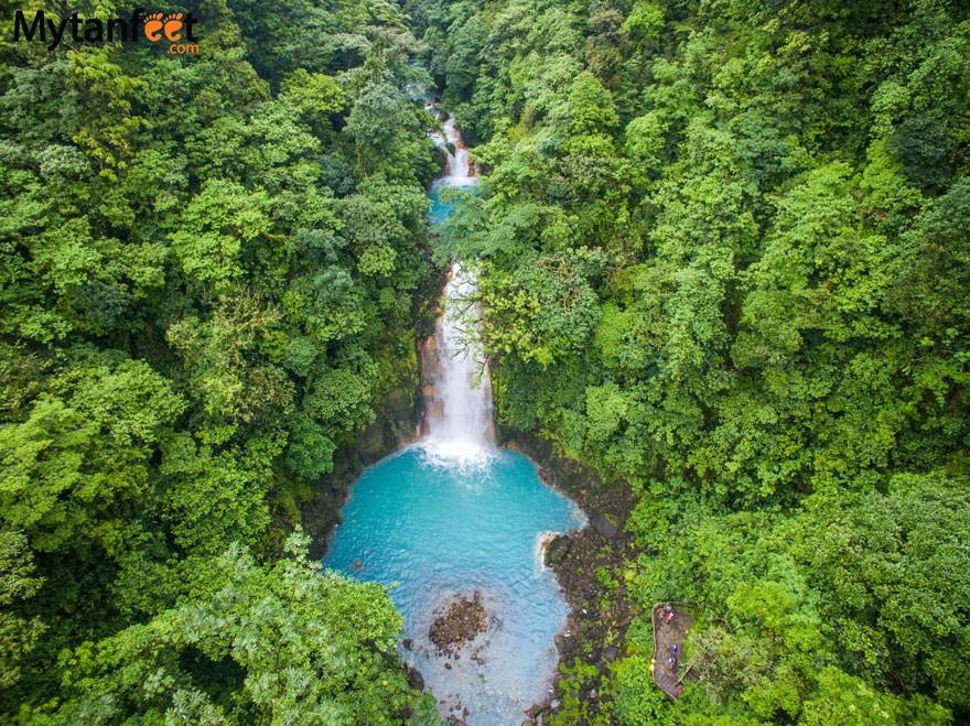 Rio-Celeste-waterfall-aerial-photo-Tenor