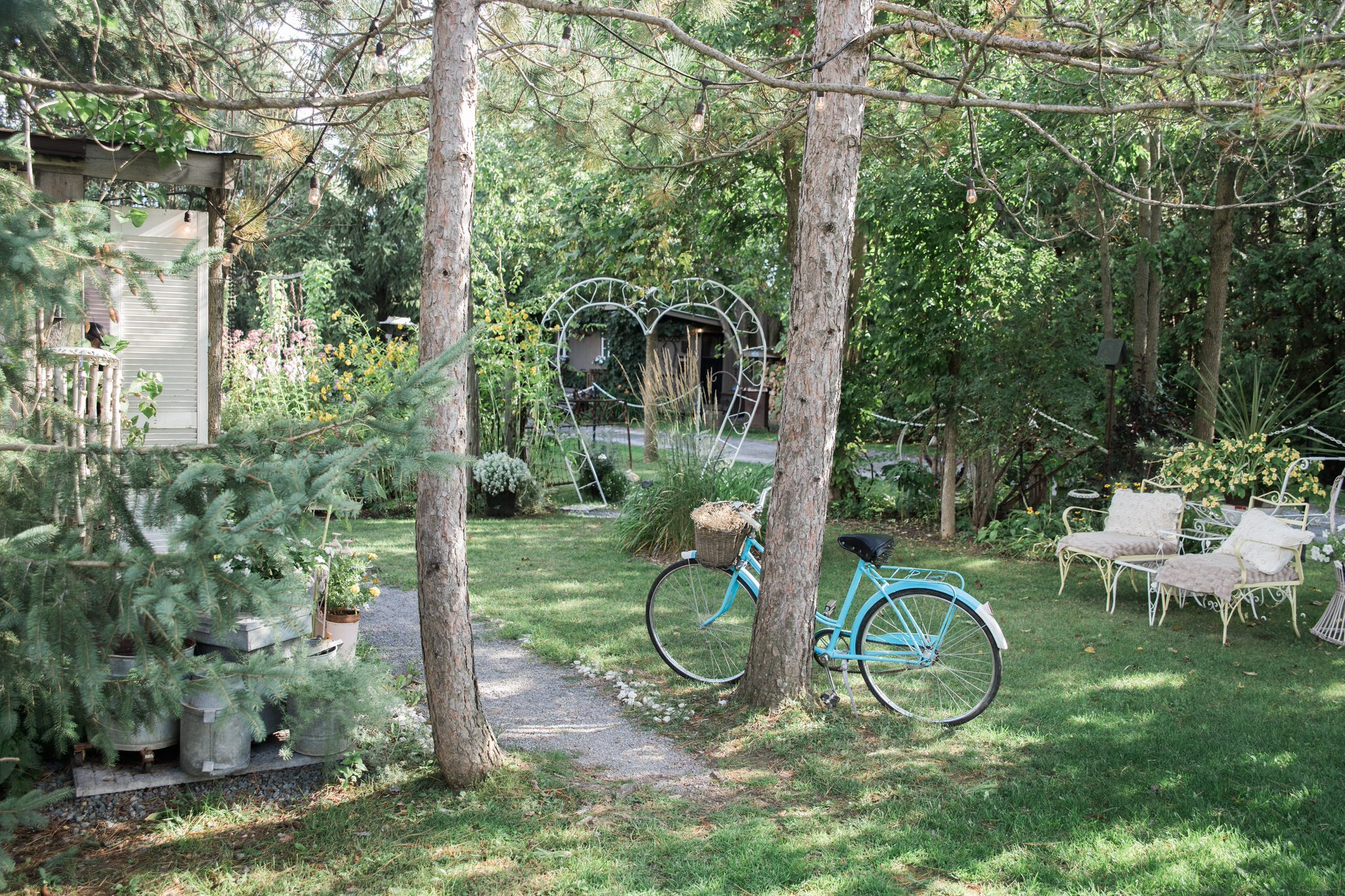 Northview Gardens Wedding - sitting area