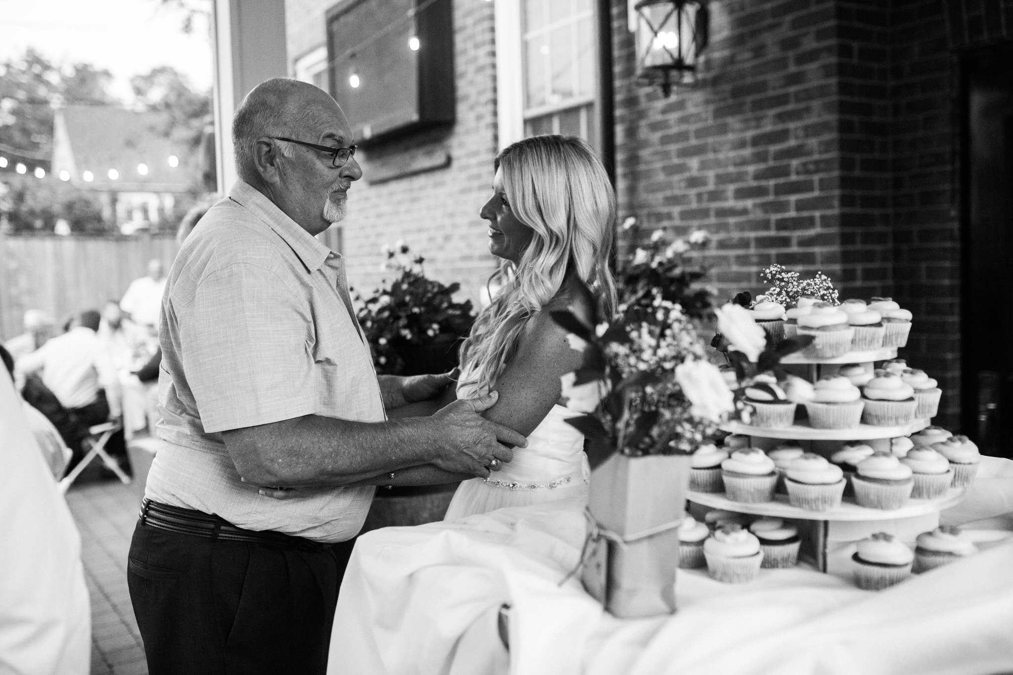 Harvest Restaurant Wedding Brooklin Ontario - Bride and guest