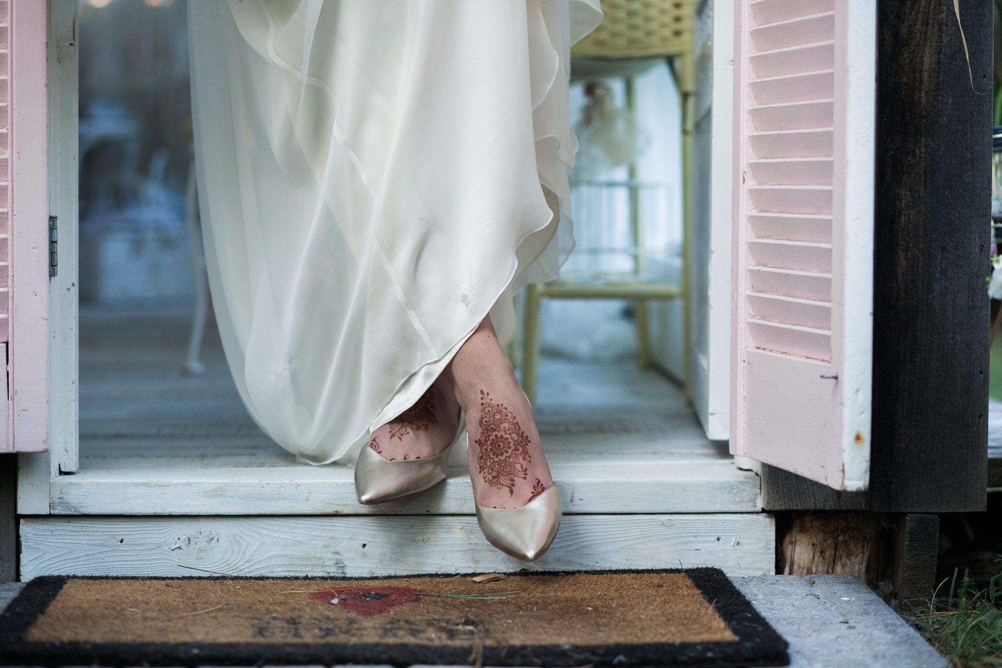 Northview Gardens Wedding - Mehndi feet