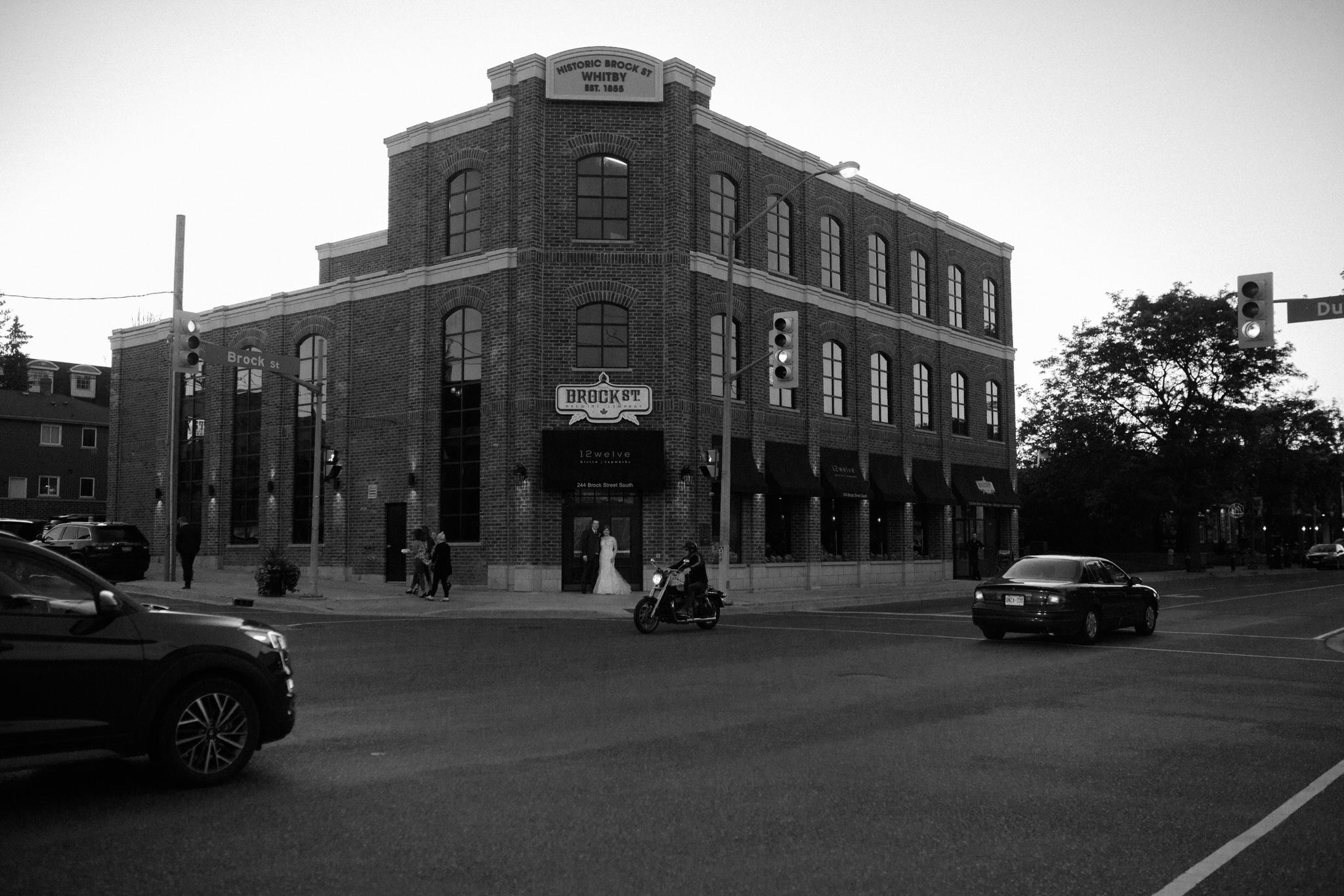 Brock Street Brewing Co. Wedding - the venue
